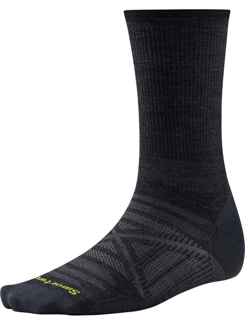 Smartwool PhD Outdoor Ultra Light Crew Socks Unisex Charcoal